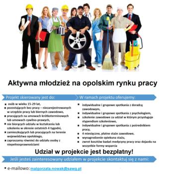 plakat Aktywna młodzież na opolskim rynku pracy.png