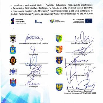 Galeria Podpisanie