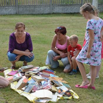 Galeria Piknik z książką